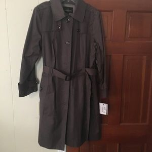 London Fog ladies size 1X hooded trench coat.